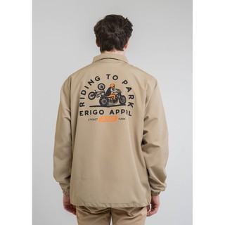Erigo Coach Jacket Park And Ride Khaki