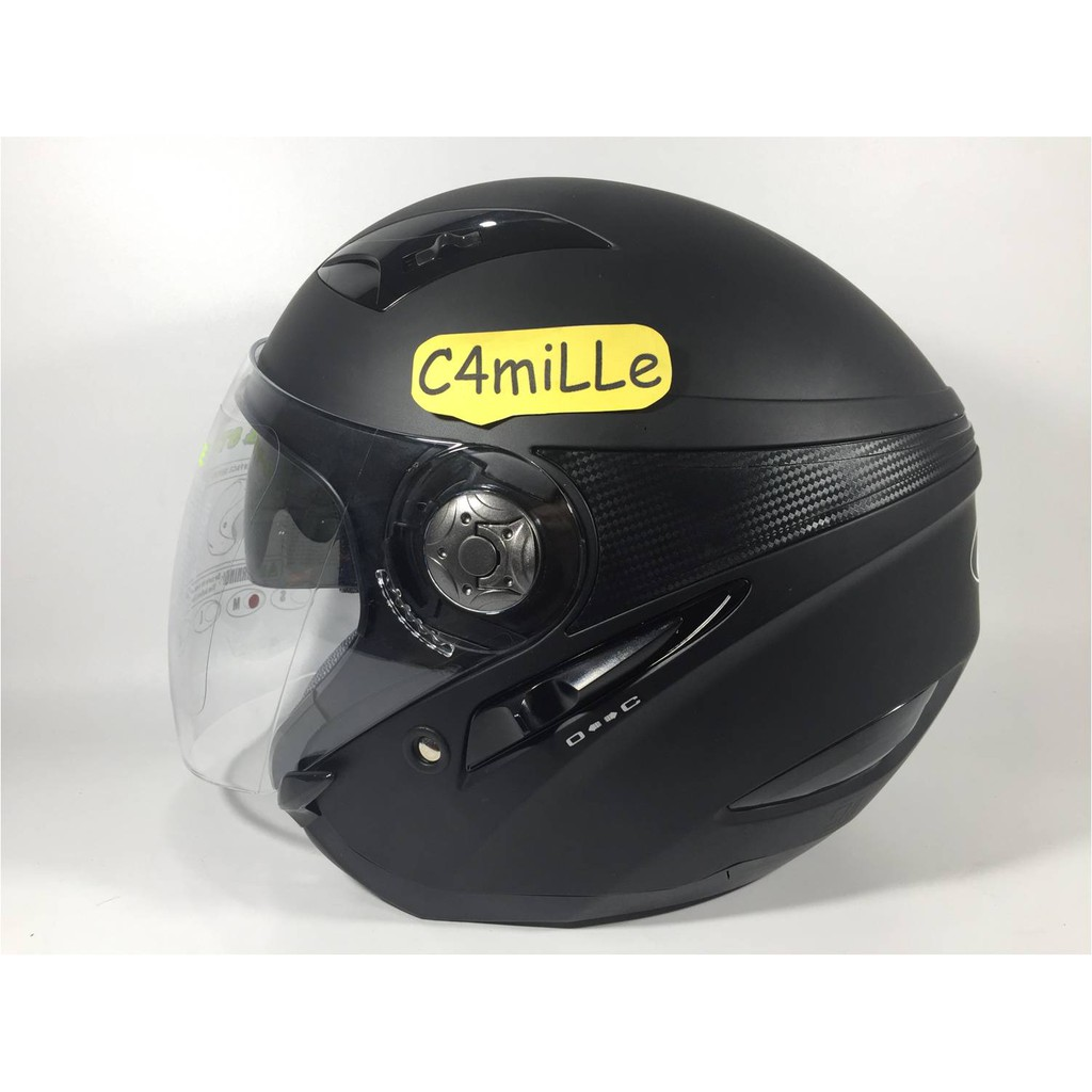 Helm Jpx Supreme Isle Of Man Black Dop Half Face Shopee Indonesia Cargloss Ycn New Oackley Deep Hitam Size Xl