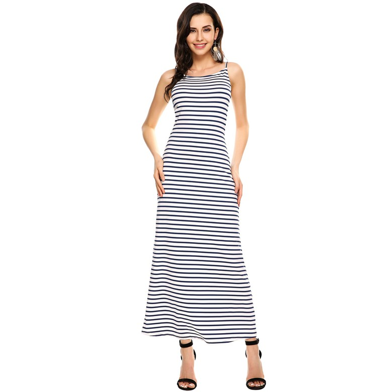 Fashion Wanita: Long Dress One Shoulder Lengan Pendek Belahan Samping | Shopee Indonesia