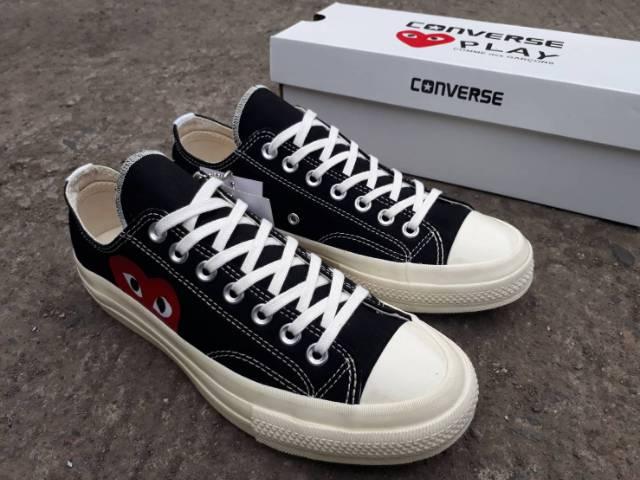 Sepatu Converse all star CDG Play Original Vietnam Sneaker casual pria  58f070b7e4