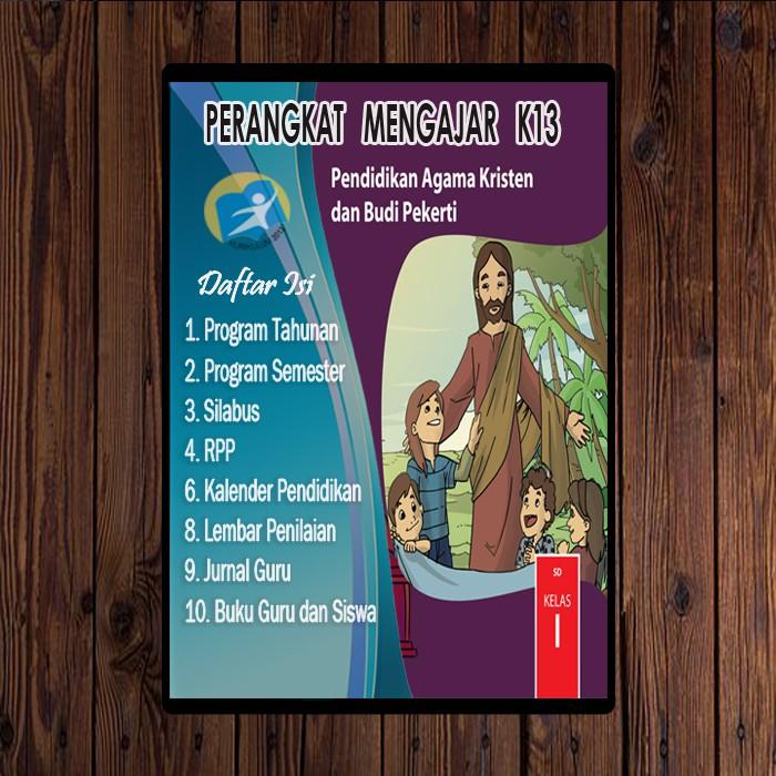 Rpp K13 Agama Kristen Kelas 1 Revisi 2017 Shopee Indonesia
