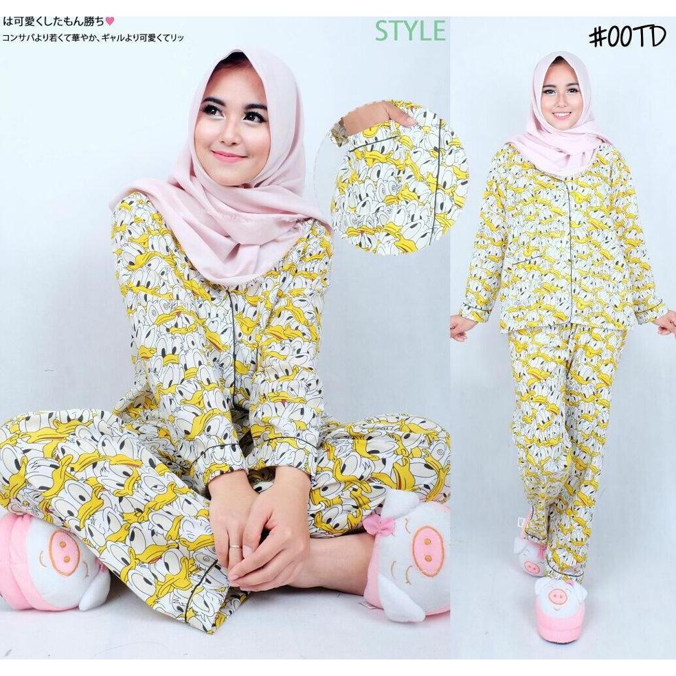 Sleepwear Piyama Baju Tidur Import Cewek Kuning Daftar Harga Pria Korean Style Hot Lq Donal Duck Wanita Xl Lucu Imut Cantik Bagus Murah Gaul