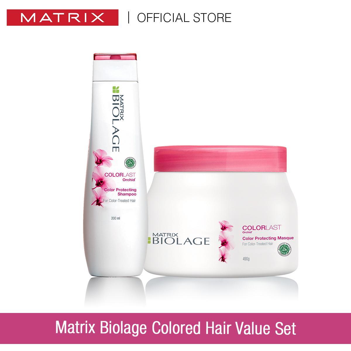 Matrix Biolage Colored Hair Value Set Shopee Indonesia
