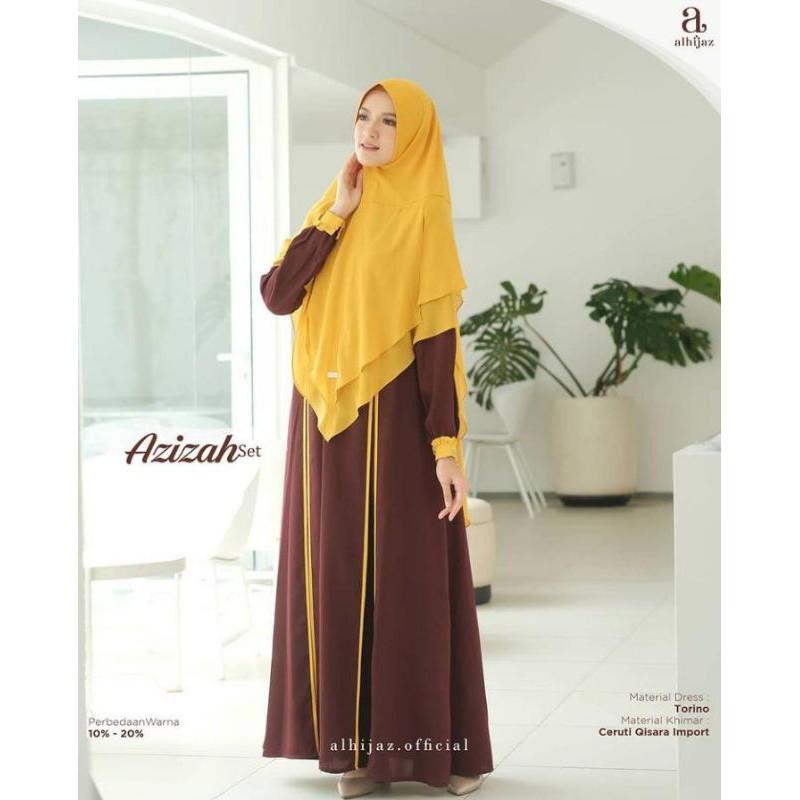 Azizah set By Alhijaz size XXl