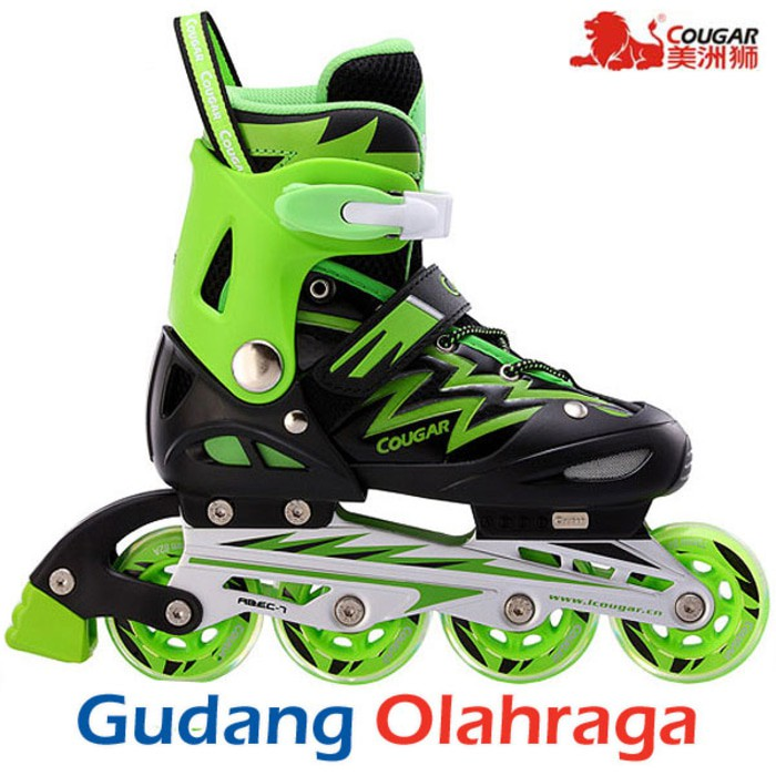 Sepatu Roda COUGAR Inline Skate MZS835L Balck White  c065a3d253