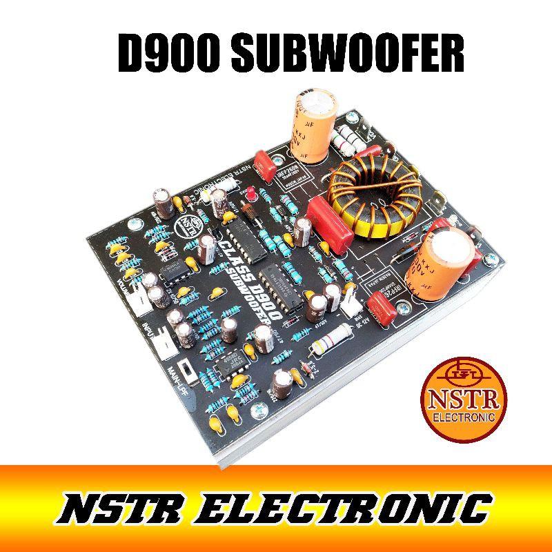 Kit power Amplifier Class D900 plus subwoofer
