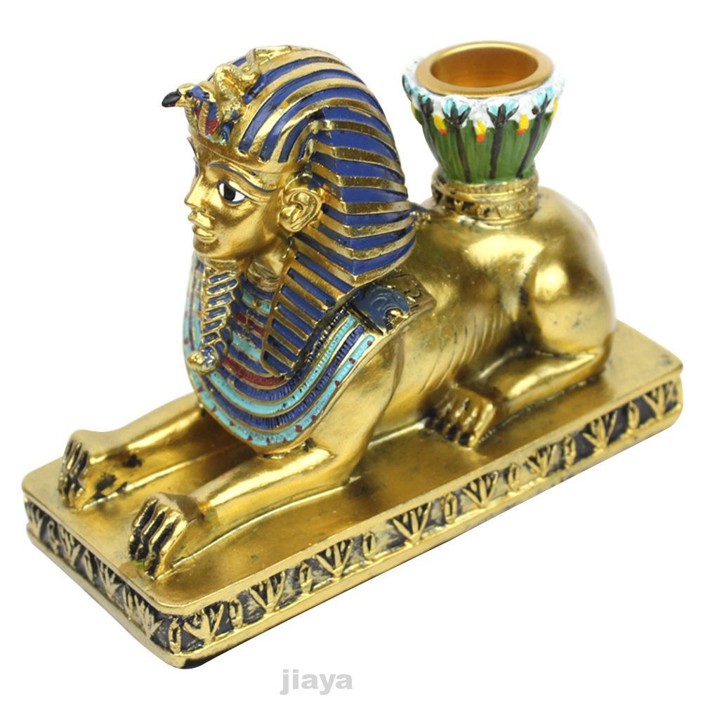 Egyptian Sphinxes Anubis Goddess Sculpture Candle Holder Sculpture Home Decor