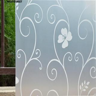 Buram Bunga Rumah Kamar Tidur Kamar Mandi Pintu Jendela Kaca Penutup
