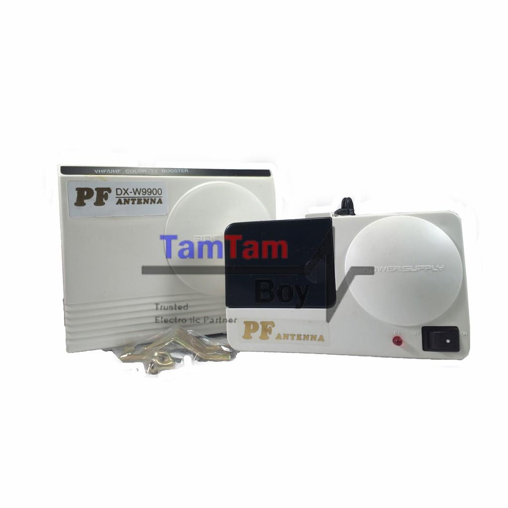 Penguat Sinyal TV / Booster Outdoor Antena TV PF DX-W9900 (ORIGINAL/ASLI) | Shopee Indonesia