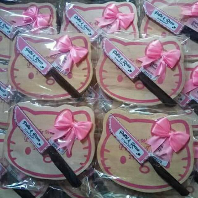 Souvenir Pernikahan Telenan Hello Kitty