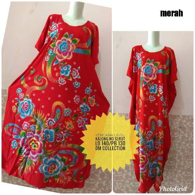 Longdress Batik Kencana Ungu Label Hitam  2f8bc38de8