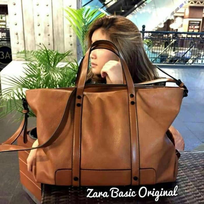 Tas Wanita Modern ZARA BASIC TRAFALUC ORI free dust bag Tas Fashion SUPLIER  TANGAN 1. HARGA PABRIK  459cdef107