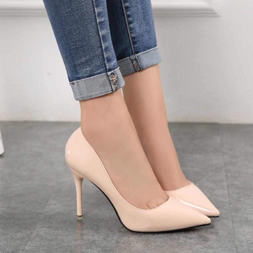 Dapatkan Harga High Heels Pump Sepatu Wanita Diskon Shopee D Tb41 Indonesia