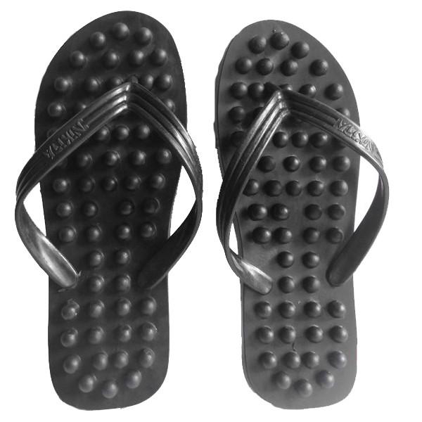 Sandal Akupuntur Buaya - Sandal Terapi Kesehatan - Sandal Jepit Duri   Shopee Indonesia