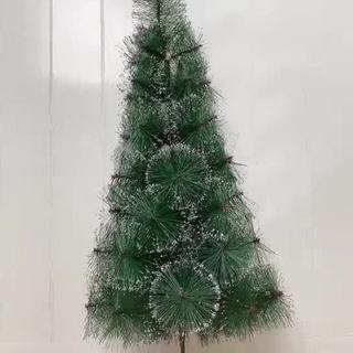 sk-c15 pohon natal 90cm 3f jarum dekorasi rumah artificial