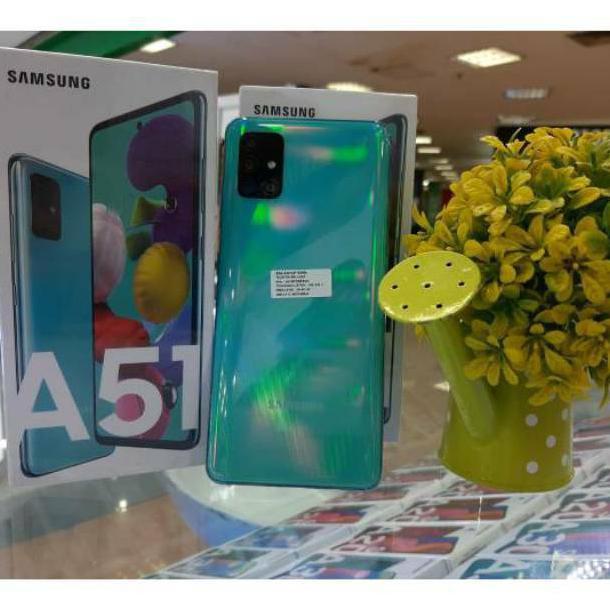 Hp Samsung A51 Ram 6 Rom 128 Gb Garansi Resmi Sein 1 Tahun Shopee Indonesia