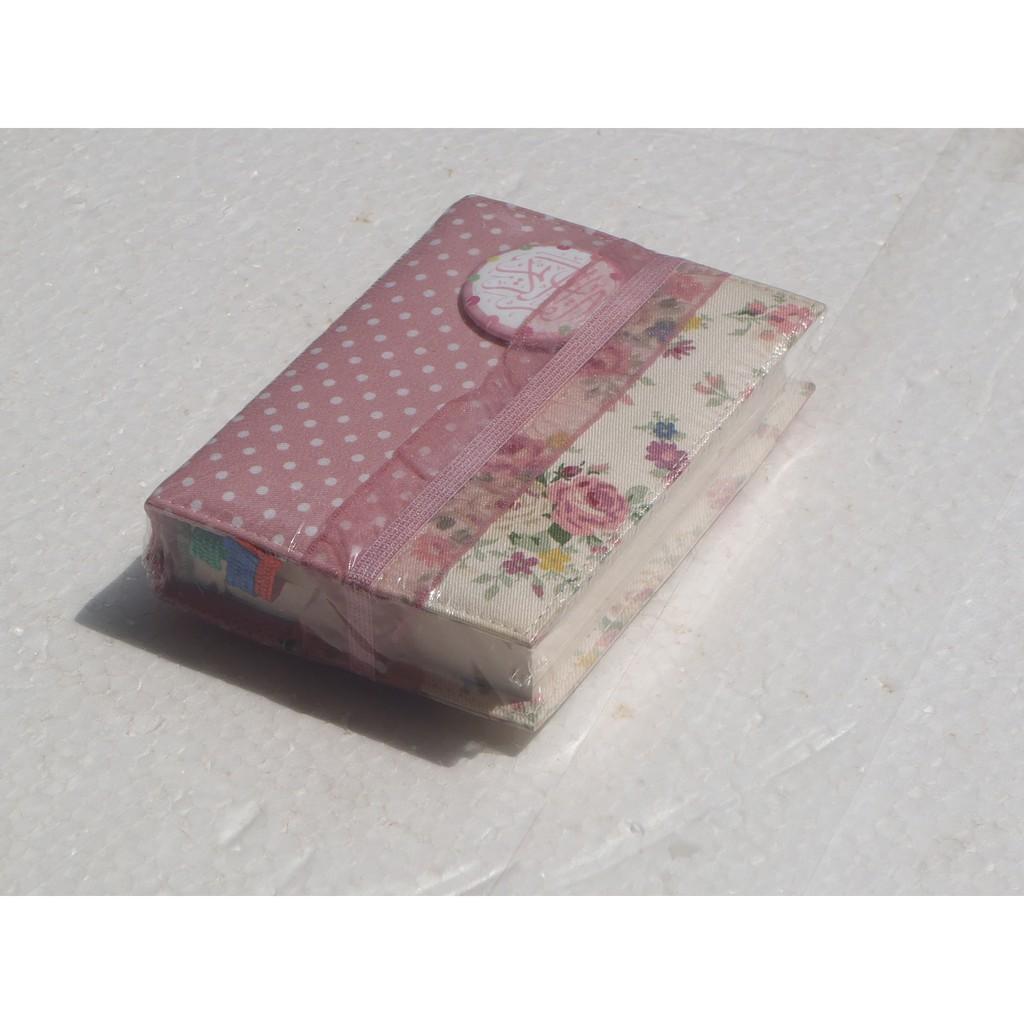 Zhafira Quran Madina Cover Bolak Balik Limited Edition Pocket Al Alquran Rainbow Premium Zfr 64 Pelangi Wanita Shopee Indonesia