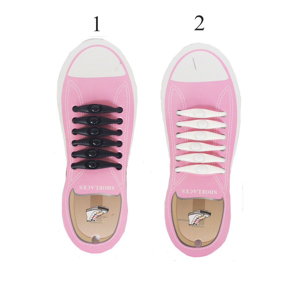 Tali Sepatu Praktis Elastis Shoe Lock Lace Laces No Tie Elastic Shoelaces With . Source ·