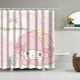 Curtains My Melody Shower Curtain