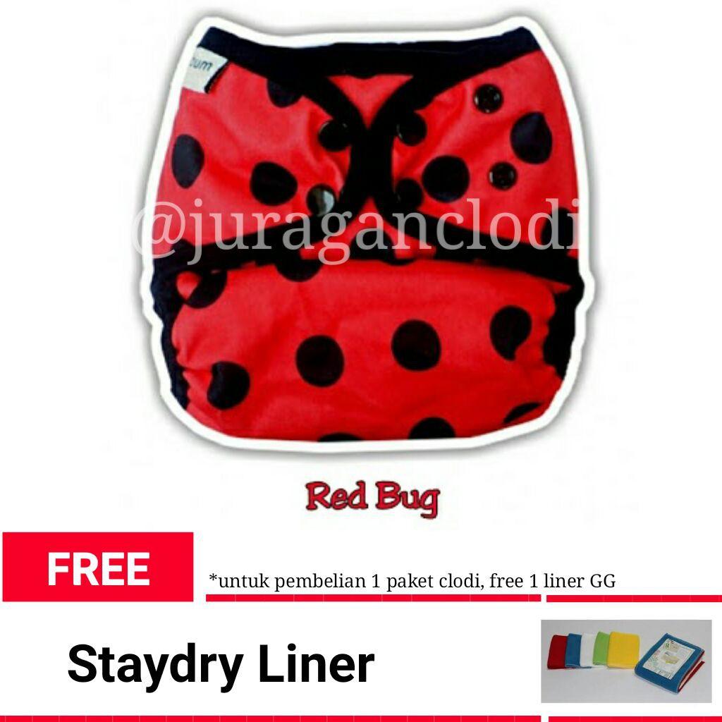 Clodi Klodizz Izzyeco Minikinizz Popok Kain Shopee Indonesia Izzy Eco Cloth Diaper Grosir  Motif 6