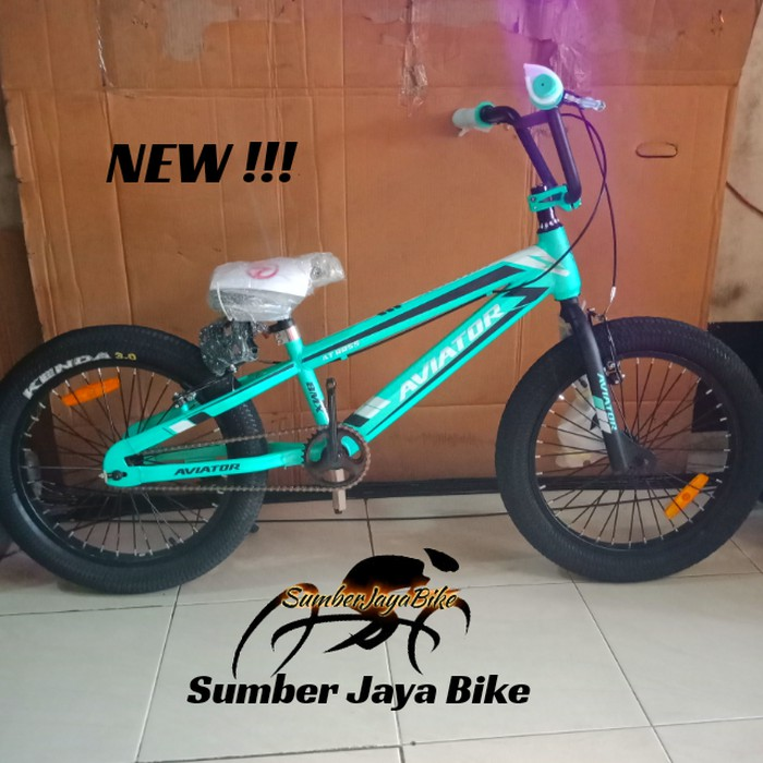 Dijual Sepeda Bmx 20 Inch Aviator Ban Besar Terbaru Limited Shopee Indonesia