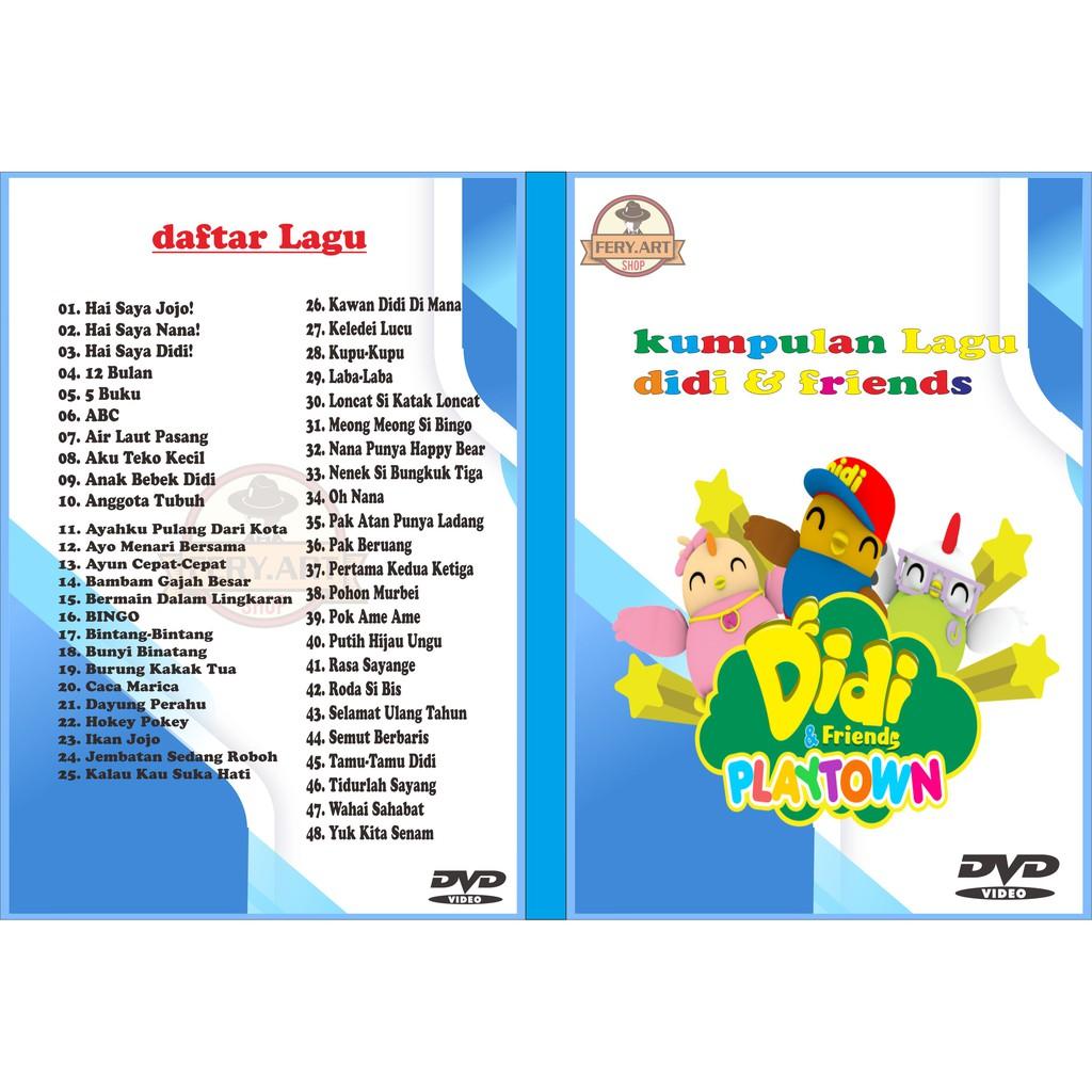 Dvd Lagu Anak Didi Friends Shopee Indonesia