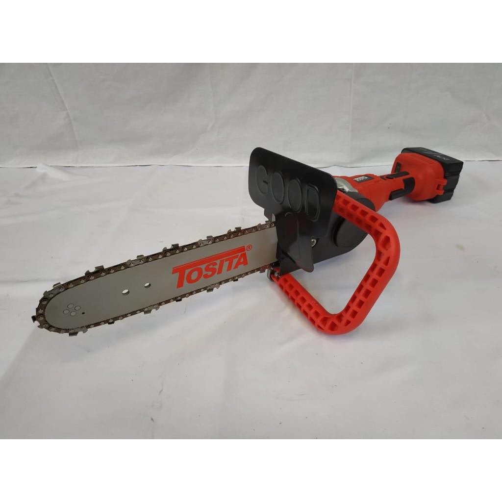 Chainsaw Mini Cordless, Chainsaw Grinda, Alat potong kayu baterai