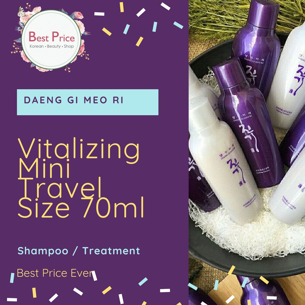 Paket Hemat Daeng Gi Meo Ri Shampoo Treatment 70ml And Hair Tonic Vitalizing 500ml Best Seller Korea Untuk Rambut Rontok Scalp Nutrition Shopee Indonesia