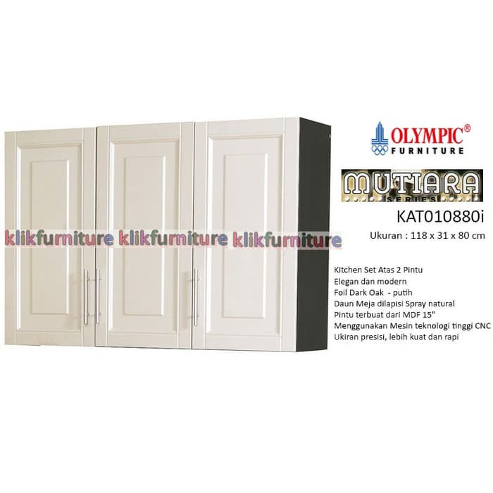 Sale Kca 5122 Kitchen Set Atas 2 Pintu Kaca Sucitra Shopee Indonesia