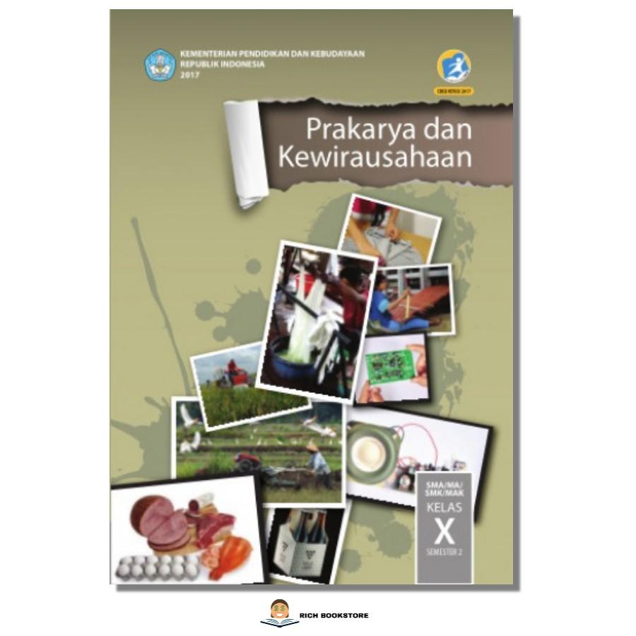 Kls 10 Buku Siswa Tematik Prakarya Kewirausahaan Sma Semester 2 K2013 Bse Shopee Indonesia
