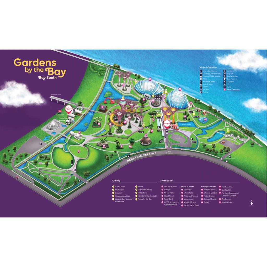 Gardens By The Bay Singapore Ticket Adult Shopee Indonesia Garden Dewasa Tiket