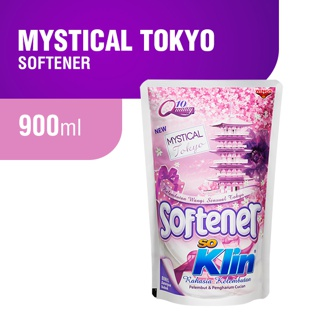 So Klin Softener Ungu Pouch 900ml