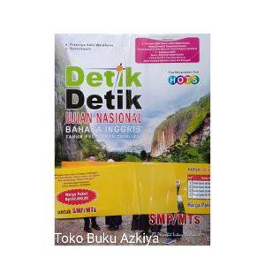 Terbaru Buku Un Detik Detik Smp 2019 Plus Kunci Jawaban Shopee Indonesia