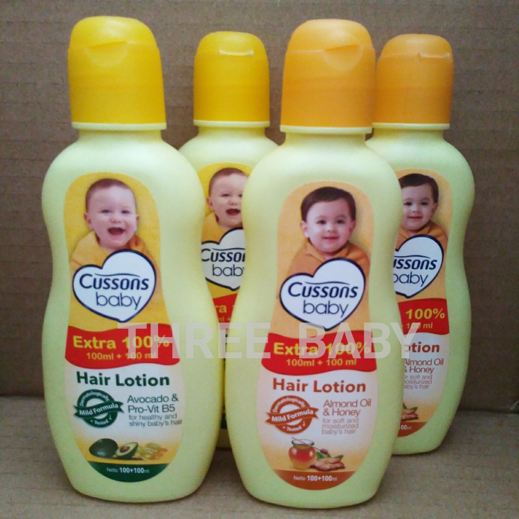 Cussons Baby Hair Lotion Candle Nut Celery 100 Ml 200 Candlenut Oil Shopee Indonesia