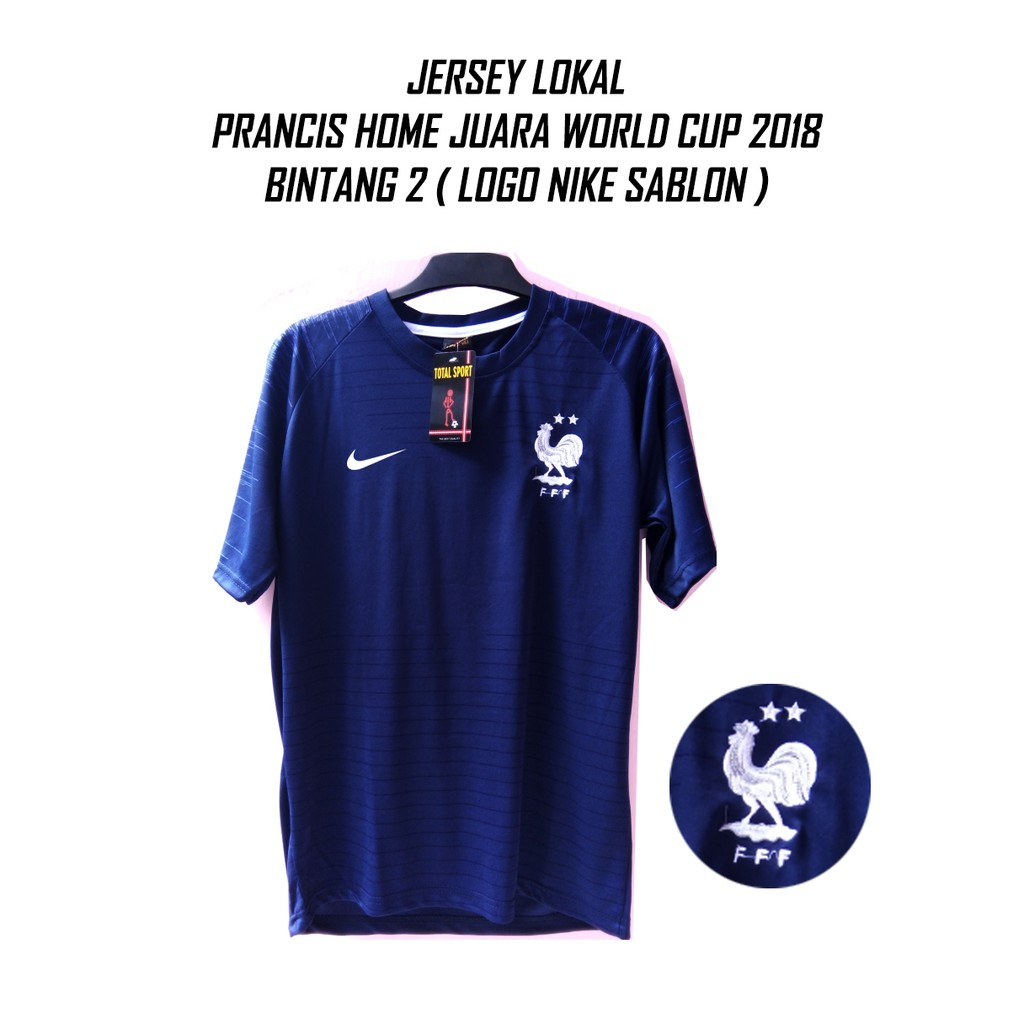 LOKAL PRANCIS HOME jersey bola piala dunia 2018  3eb015a07