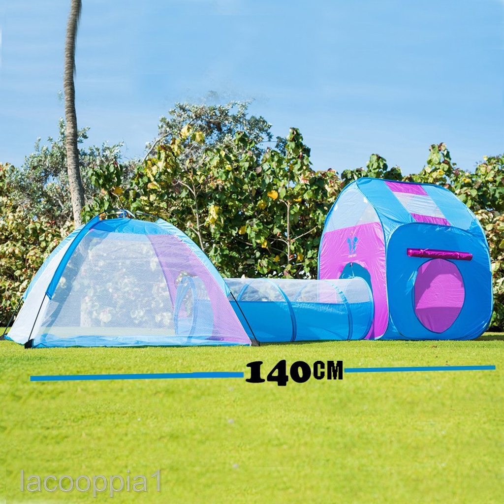 pop up play tent and tunnel combo