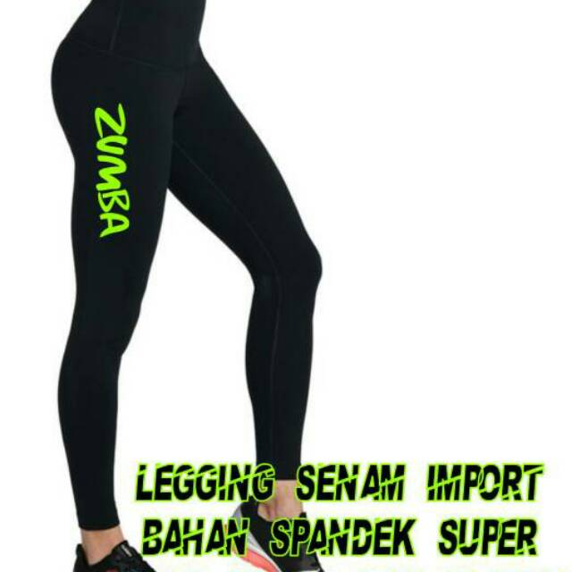 Celana Legging Senam Zumba Import Shopee Indonesia