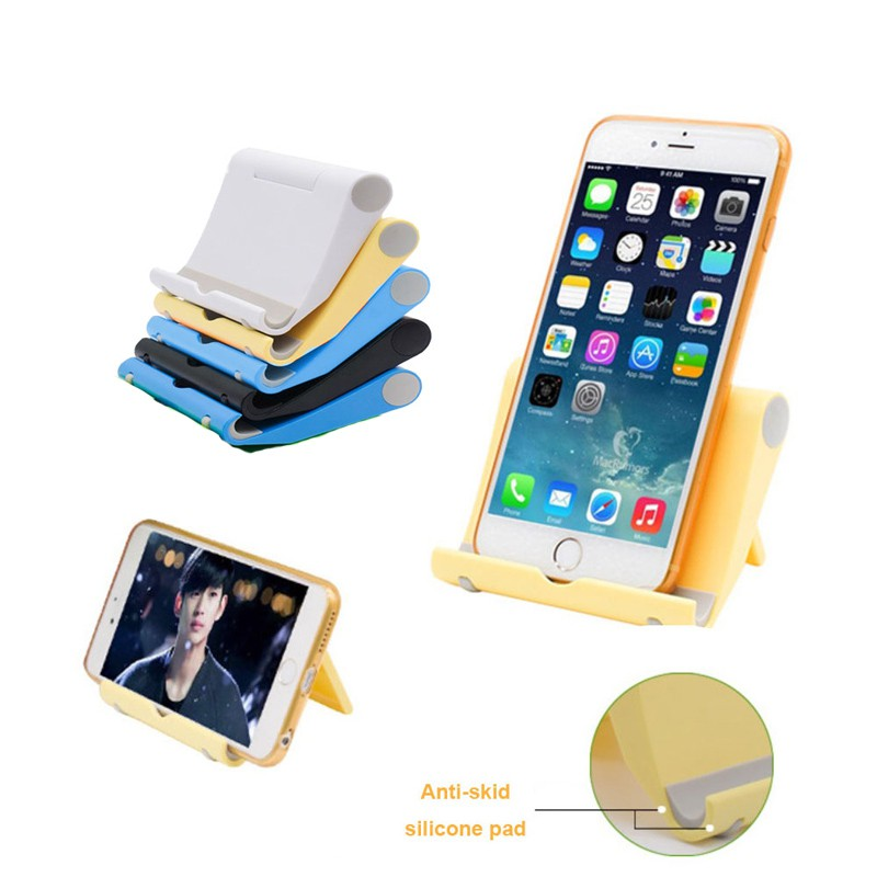 NIC Stand Holder Handphone/Smartphone Model Klip/Clamp Jepit Hitam Tahan Lama untuk Monopod