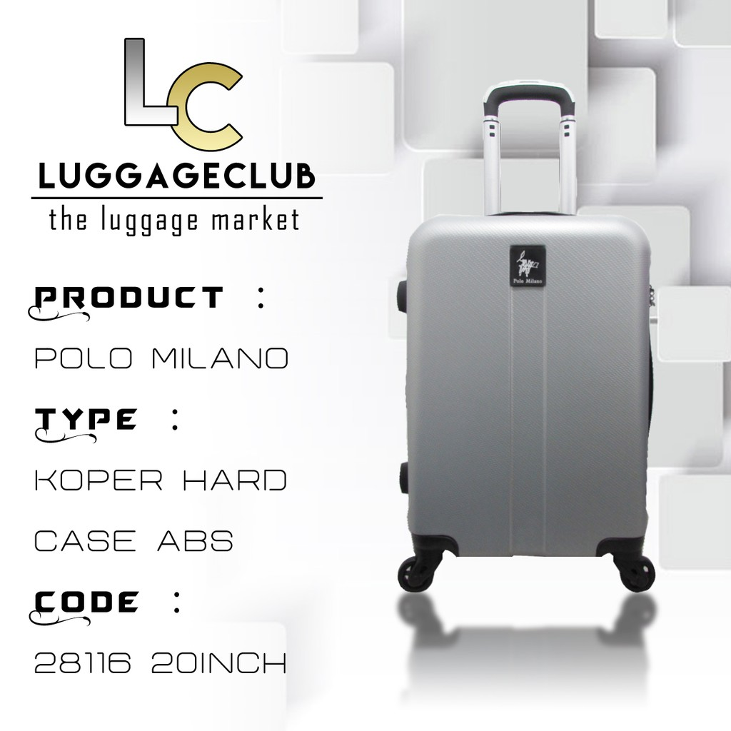 Polo Milano Koper Hard Case Abs 28117 Set 2 2024 Daftar Harga Tas Hoby Fiber 1 20 Ampamp 24 Inch 707 Coffe 28116 Blue Source Toko Online Luggage Club Official
