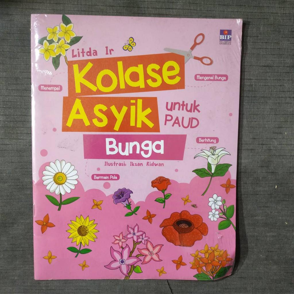Kolase Asyik Bunga Untuk Paud Shopee Indonesia