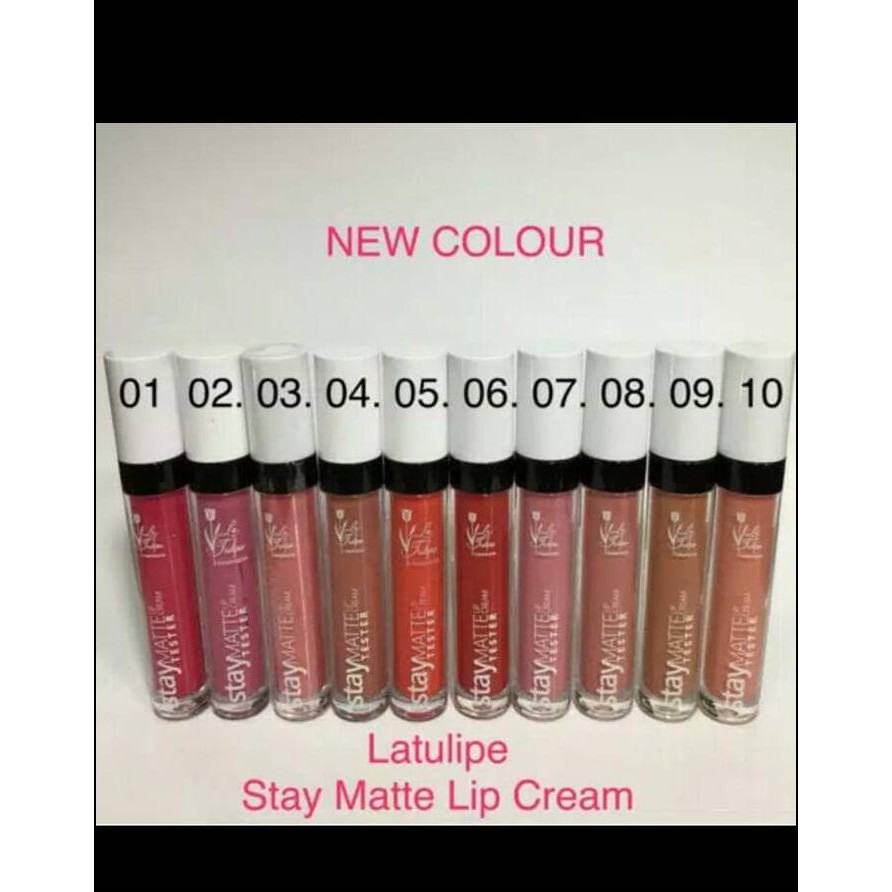 New Collection Lt Pro Long Lasting Matte Lip Cream Gratis Ongkir No6 Shopee Indonesia