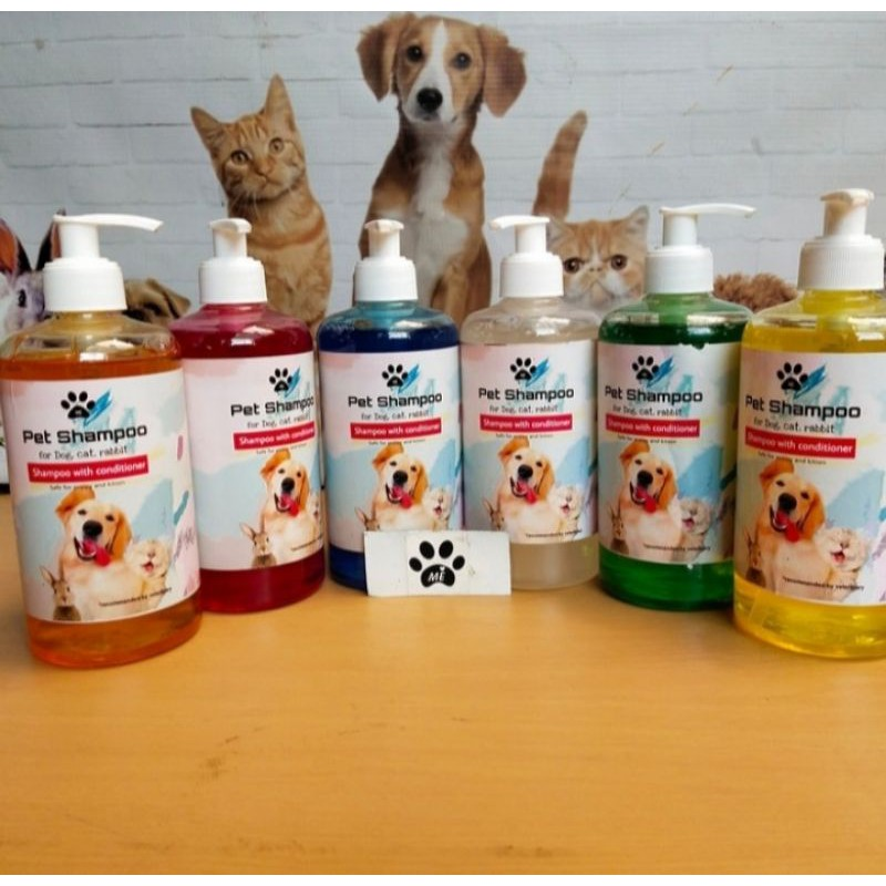 Shampo Kucing Anjing SHAMPO PLUS KONDITIONER 500ML-3