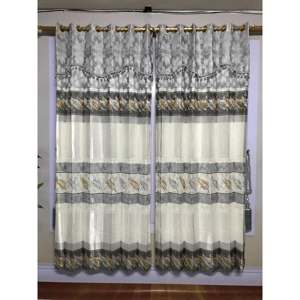 Jual Beli Produk Tirai Gorden Dekorasi Perlengkapan Rumah Plisket Bahan Saten Lebar 1 M Tinggi 185 Cm Shopee Indonesia