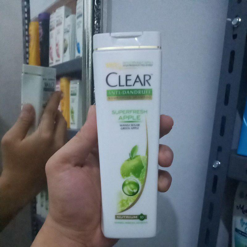 [Original] Shampoo Clear Anti Dandruff Sakura Fresh 170Ml-Apel