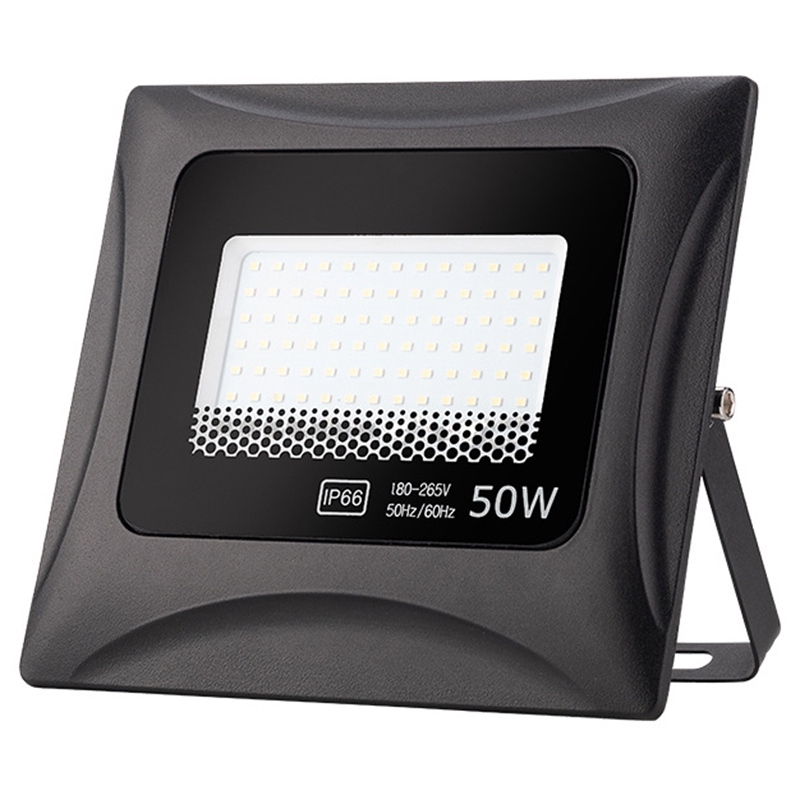 Led Flood Light 50w Linear Flood Light Outdoor Lighting 180 260v Ip66 Waterproof Adc12 Aluminum Projection Light Shopee Indonesia