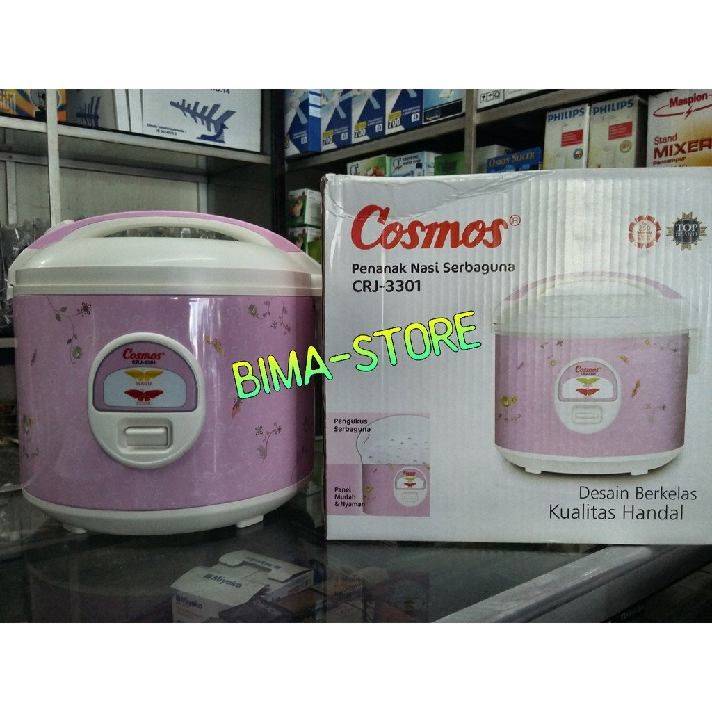 Twin Dog Rice Cooker 18l Shopee Indonesia Cosmos Crj 3301