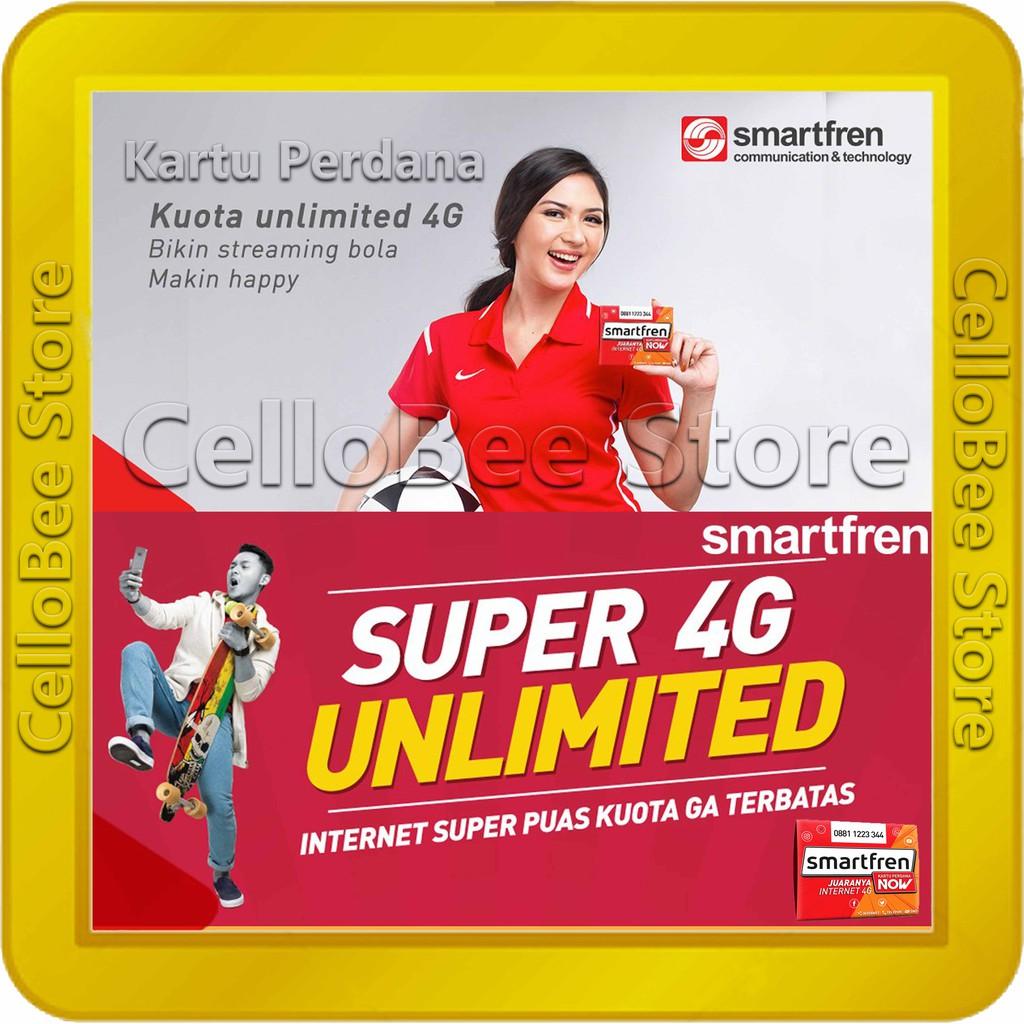 Kartu Perdana Internet Smartfren Kuota 13gb Aktif Paket 13 Gb Modem Hp Shopee Indonesia
