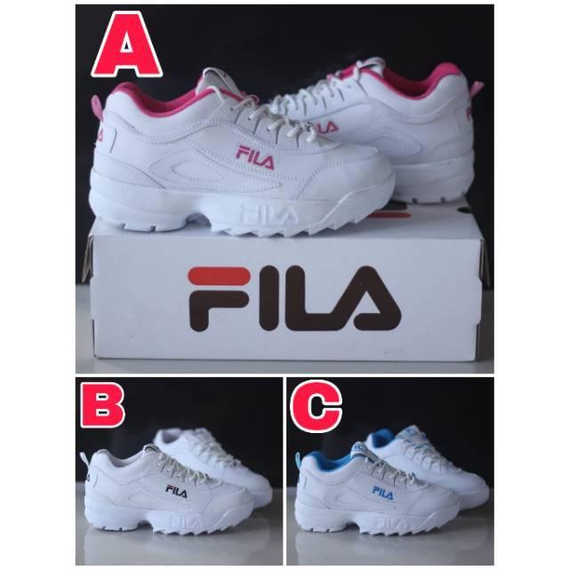 Sepatu Fila Running Sporty Design Teen Cowok  dad0904d79