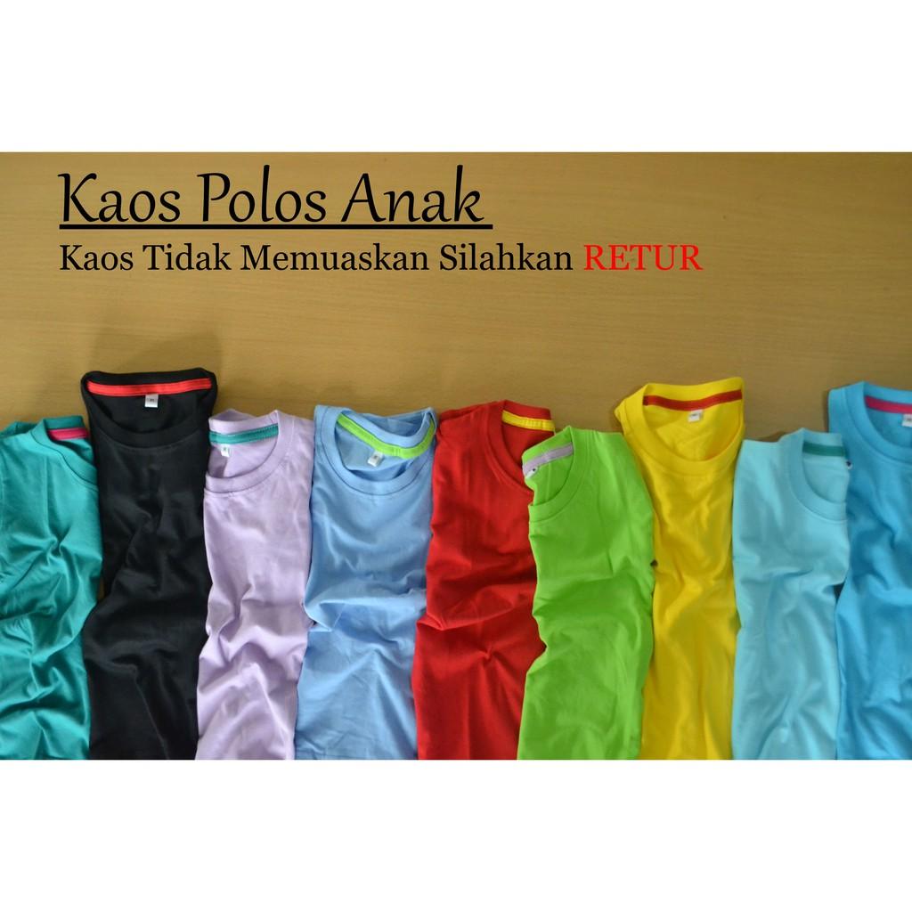 Up To 61 Discount Forkids Baju Anak Cowo Cewe Kaos Polos Promo Koko Busana Muslim Distro Tidur Dewasa Laki Perempuan