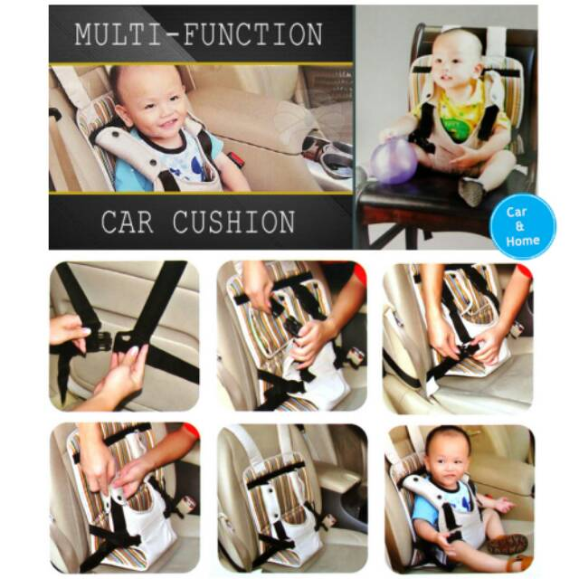 Car Baby safety chair / Pengaman Tempat Duduk bayi Car and Home SC-15 - Pink | Shopee Indonesia